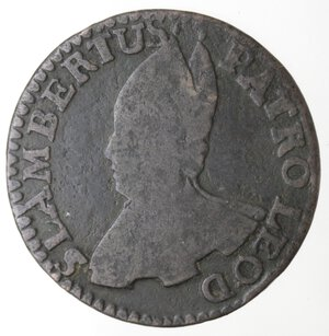 obverse: Belgio. Liegi. Sede Vacante. Liard 1744. Ae.