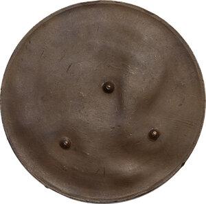 reverse: Medaglia unifacie o prova di medaglia, con la raffigurazione del porto di Rodi