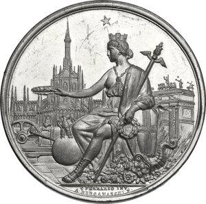 obverse: Medaglia 1881 per l Esposizione Nazionale di Milano