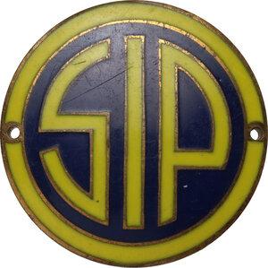 obverse: SIP - Società Italiana per l Esercizio delle Telecomunicazioni S.p.A. Distintivo pubblicitario, primo quarto XX sec