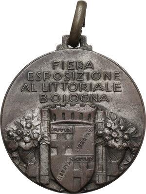 reverse: Medaglia per La Fiera Esposizione al Littoriale di Bologna (1931)