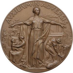 obverse: Medaglia A. XVI, 1938 per il centesimo anniversario della RAS (Riunione Adriatica di Sicurtà)