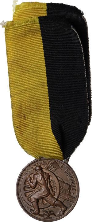 reverse: Medaglia 1939, A. XVII per il VII Raduno artiglieri d Italia, Palermo
