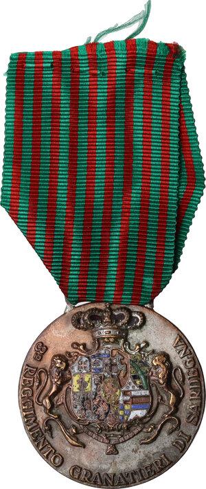 obverse: Medaglia 1940/41, A. XIX. 3° Reggimento Granatieri di Sardegna