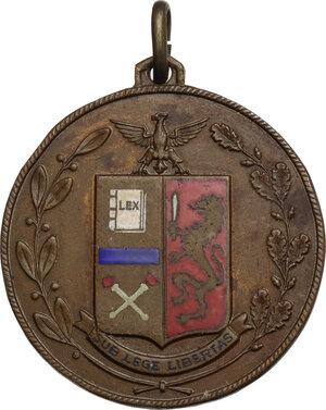 obverse: Medaglietta Ispettorato XI zona guardie P. S.
