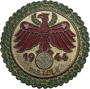 obverse: Spilla 1944 PISTOLE, per gara di tiro in Tirolo