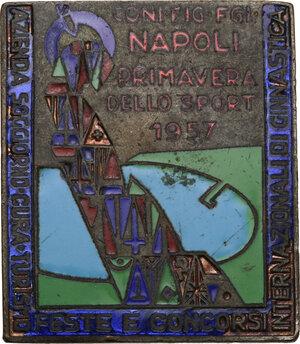 obverse: Spilla Primavera dello Sport 1957 Napoli