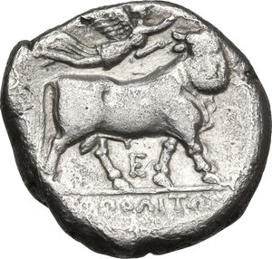 reverse: Central and Southern Campania, Neapolis. AR Didrachm, c. 275-250 BC