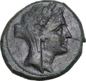 obverse: Eastern Italy, Larinum. AE Sextans, 250-225 BC