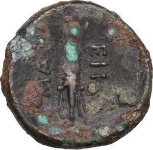 reverse: Northern Apulia, Arpi. AE 12 mm. c. 325-275 BC