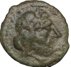 obverse: Carteia. AE Semis, 1st century BC