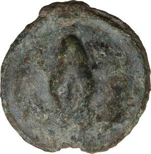 obverse: Northern Apulia, Luceria. AE Uncia, c. 217-212 BC
