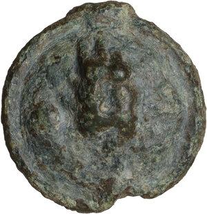 reverse: Northern Apulia, Luceria. AE Uncia, c. 217-212 BC