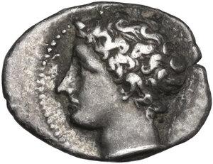 obverse: Gaul, Massalia. AR Obol, 4th-3rd century BC