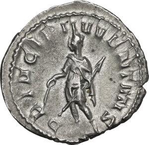 reverse: Herennius Etruscus as Caesar (251 AD).. AR Antoninianus, Rome mint