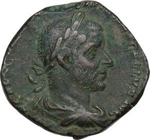 obverse: Trebonianus Gallus (251-253).. AE Sestertius, Rome mint