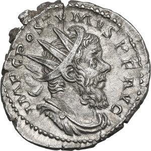 obverse: Postumus (259-268).. AR Antoninianus, Treveri mint