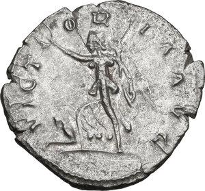 reverse: Postumus (259-268).. AR Antoninianus, Lugdunum mint, 260-269 AD