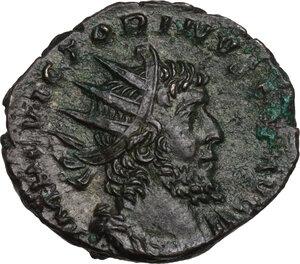 obverse: Victorinus (268-270).. AE Antoninianus, 270 AD. Treveri mint