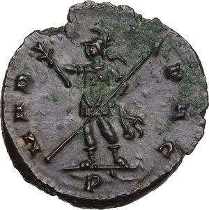 reverse: Quintillus (270 AD).. BI Antoninianus, Mediolanum mint