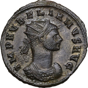 obverse: Aurelian (270-275).. BI Antoninianus, Cyzicus mint