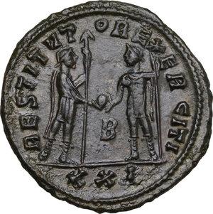 reverse: Aurelian (270-275).. BI Antoninianus, Cyzicus mint