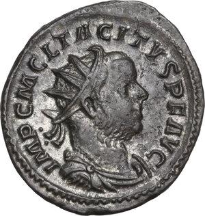 obverse: Tacitus (275-276).. BI Antoninianus, Lugdunum mint, 276 AD
