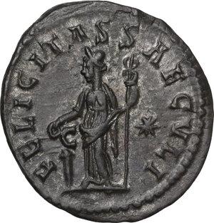 reverse: Tacitus (275-276).. BI Antoninianus, Lugdunum mint, 276 AD