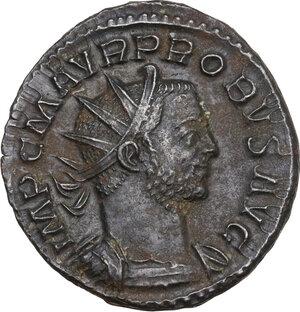 obverse: Probus (276-282).. BI Antoninianus, Lugdunum mint
