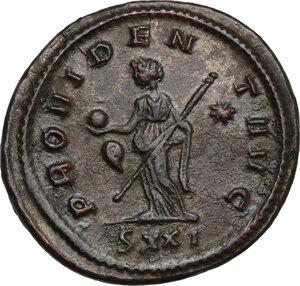 reverse: Probus (276-282).. BI Antoninianus, Ticinum mint
