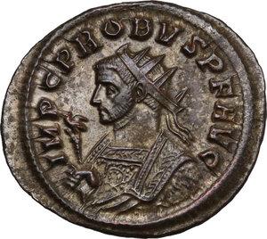 obverse: Probus (276-282).. BI Antoninianus, Ticinum mint, 280 AD