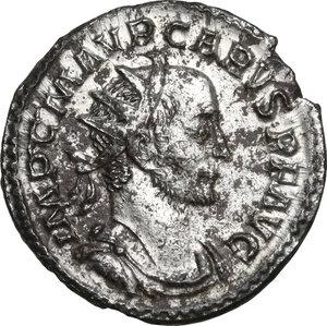 obverse: Carus (282-283 AD).. BI Antoninianus, Lugdunum mint