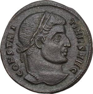 obverse: Constantine I (307-337).. AE Follis, 320-321 AD. Aquileia mint