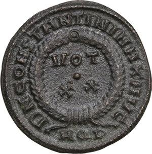 reverse: Constantine I (307-337).. AE Follis, 320-321 AD. Aquileia mint