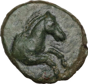 obverse: Southern Lucania, Heraclea. AE 14 mm. c. 276-250 BC
