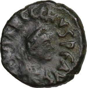 obverse: Marcian (450-457).. AE 10 mm. Constantinople mint