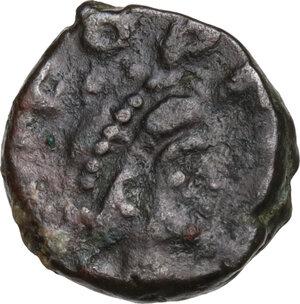 obverse: Leo I (457-474). AE Nummus, Constantinople mint