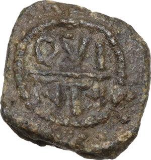 reverse: Leads from Ancient World.. PB Tessera,1st century AD