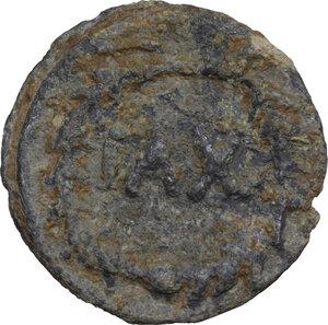 reverse: Leads from Ancient World.. PB Tessera, 1st-3rd Century AD