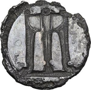 reverse: Bruttium, Kroton. AR incuse Stater, c. 530-500 BC