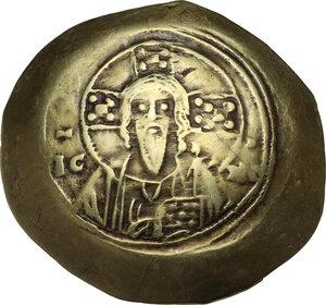 obverse: Michael VII Ducas (1071-1078).. EL Histamenon Nomisma, Constantinople mint