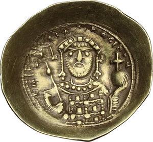 reverse: Michael VII Ducas (1071-1078).. EL Histamenon Nomisma, Constantinople mint