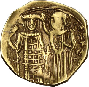 reverse: The Empire of Nicaea. John III, Ducas (1222-1254).. AV Hyperpyron, Magnesia mint, circa 1232-1254