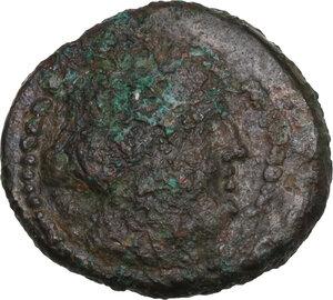 obverse: Bruttium, Petelia. AE 15 mm. late 3rd century BC