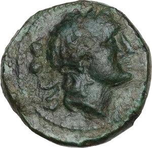 obverse: Bruttium, Petelia. AE Sextans, 2nd century BC