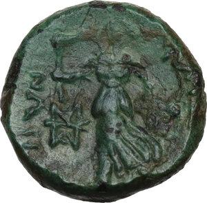 reverse: Bruttium, Petelia. AE Sextans, 2nd century BC