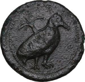 obverse: Agyrion. AE 27mm (Hemilitron), c. 430-380 BC
