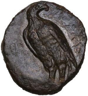 obverse: Akragas. AE 14 mm. c. 338-317 BC