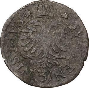 Bozzolo.  Scipione Gonzaga (1613-1670). Da 3 soldi