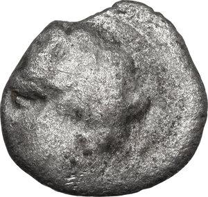 obverse: Etruria, Populonia.  AR 10 Asses, 3rd century BC